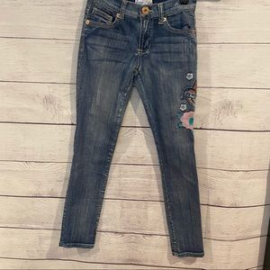 Freestyle Embroidered Straight Leg Jean
